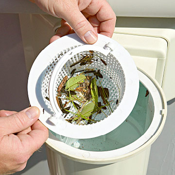 How often do I have to clean the skimmer basket?
